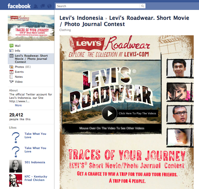Levi's Roadwear – Grab the Youth Passion, Mindshare & Lifestyle ...